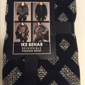 Ike Behar reversible Fashion Wrap New